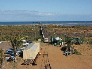 Jetée de Carnarvon - Ouest Australien