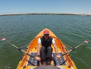 Emmanuel à l'entrainement à Carnarvon Ouest Australie