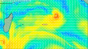 Situation d'Emmanuel vis à vis de la tempête COLIN Vendredi 10-01-2014